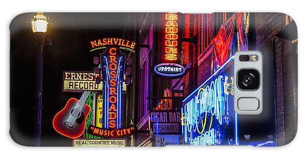 Signs Of Music Row Nashville Galaxy Case