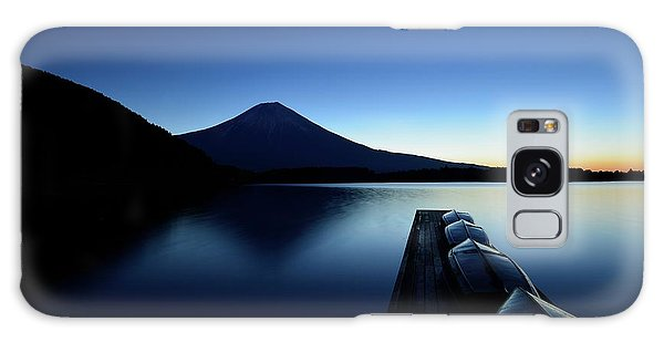 Docked Boats Galaxy Case - Silence by Manabu Isei
