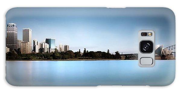 Australia Galaxy Case - Silence Of Ms. Macquarie's Skyline by Dr. Akira Takaue