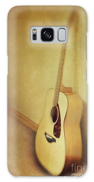 Silent Guitar Galaxy Case by Priska Wettstein