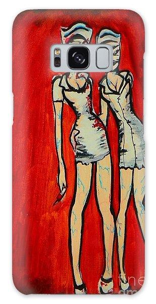 Silent Hill Nurses Galaxy Case by Marisela Mungia