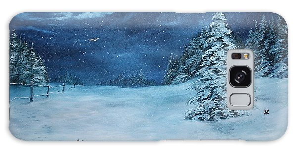 Silent Night Galaxy Case by Jean Walker