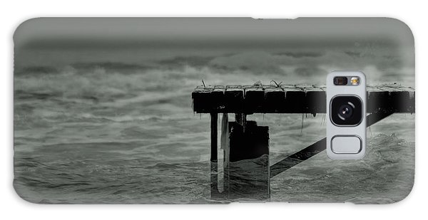 Peaceful Pier Galaxy Case
