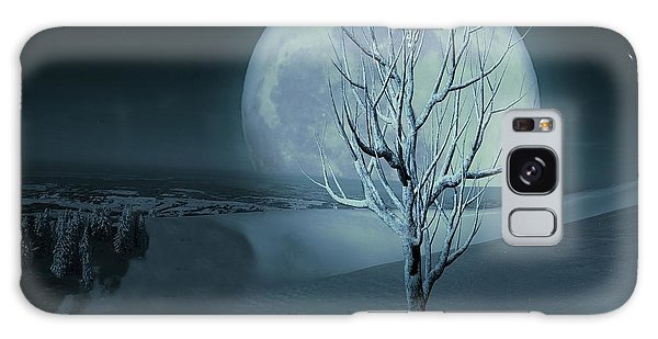 Silent Winter Evening  Galaxy Case