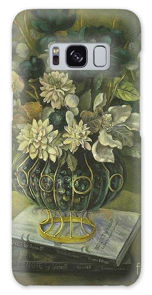 Silk Floral Arrangement Galaxy Case