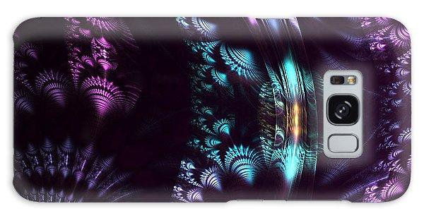 Silken Patterns Galaxy Case by Linda Whiteside