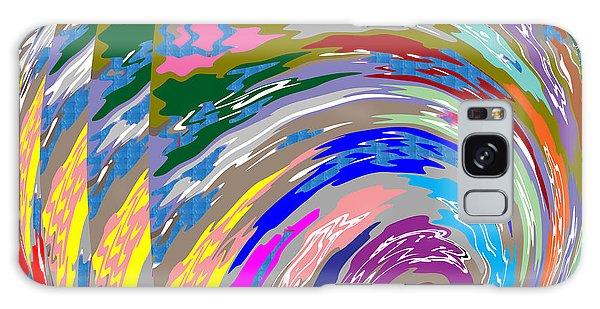 Colorful Fineart Silken Spiral Waves Pattern Decorative Art By Navinjoshi At Fineartamerica.com Galaxy Case