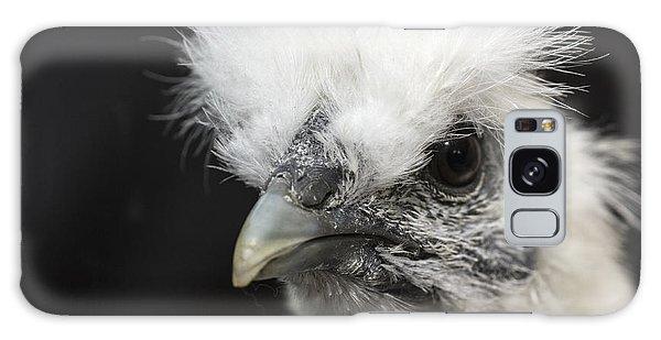 Silkie Chicken Portrait Galaxy Case