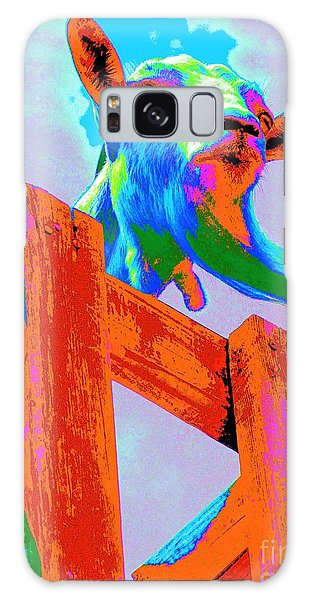 Silly Billy In Many Colors Photo Impressionism Galaxy Case by Annie Zeno