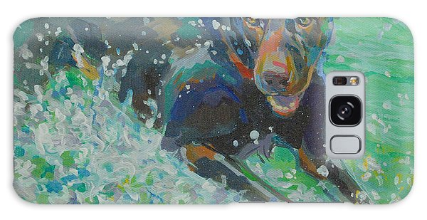 Chocolate Lab Galaxy Case - Silly Goose by Kimberly Santini