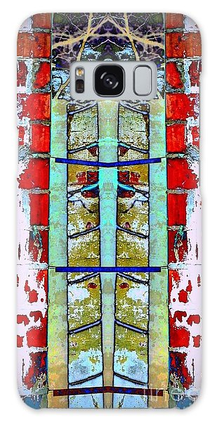 Silo Abstract 2 Galaxy Case by Karen Newell