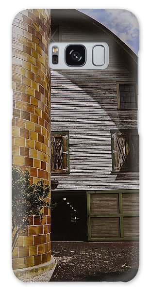 Silo And Horse Stable Galaxy Case by Debra Crank