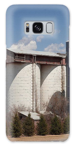 Silo House With A View - Color Galaxy Case by Carol Lynn Coronios