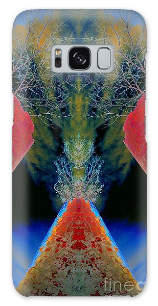Silo Sky Galaxy Case by Karen Newell