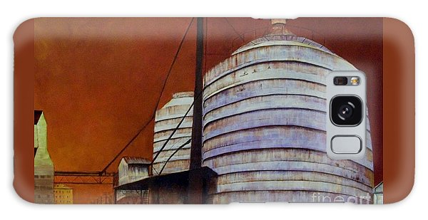 Silos With Sienna Sky Galaxy Case