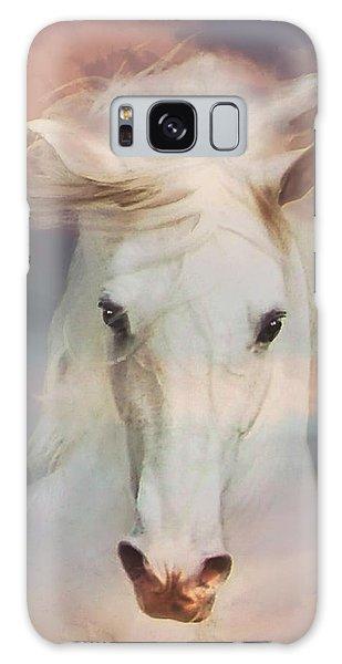 Silver Boy Galaxy Case by Melinda Hughes-Berland