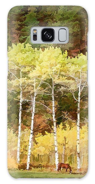 Galaxy Case featuring the photograph Silver Creek Canyon by Rich Stedman
