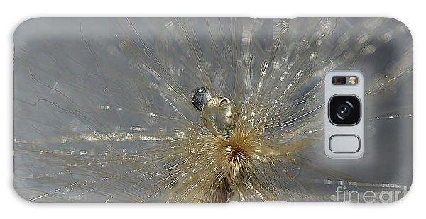 Silver Drops Galaxy Case