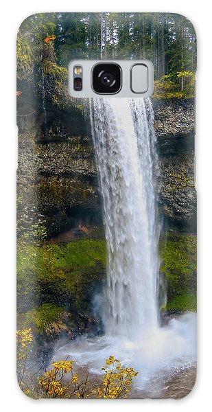 Silver Falls - South Falls Galaxy Case