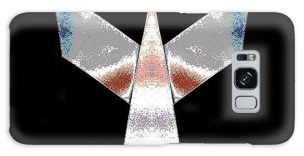 Silver Plane Galaxy Case