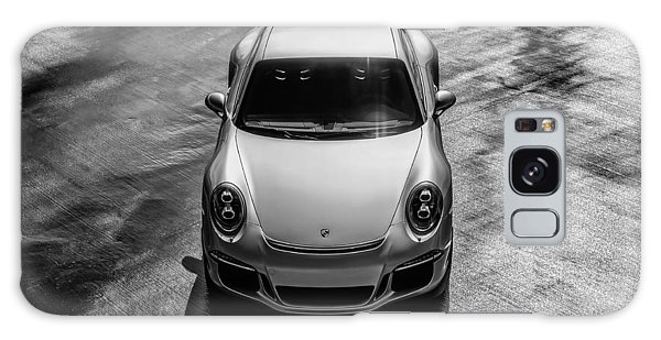 Silver Porsche 911 Gt3 Galaxy Case by Douglas Pittman