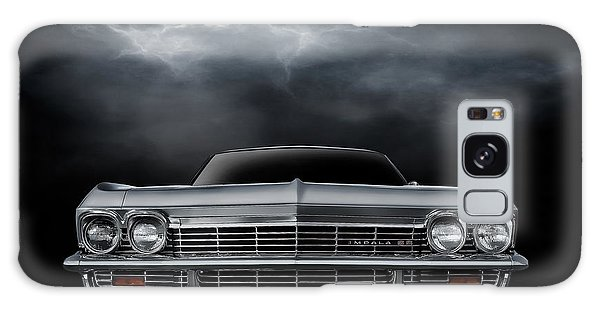 Sport Car Galaxy Case - Silver Sixty Five by Douglas Pittman