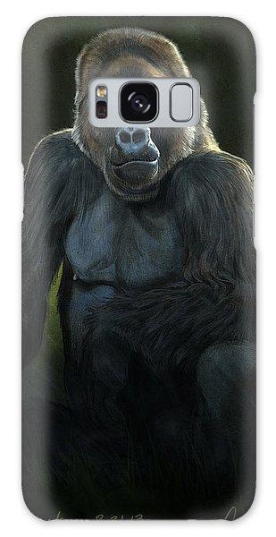 Gorilla Galaxy S8 Case - Silverback by Aaron Blaise