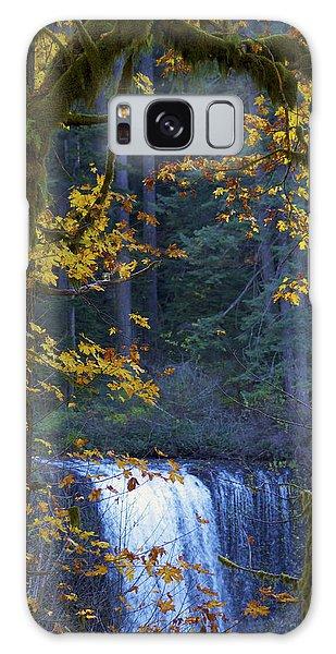 Silverton Falls Oregon Galaxy Case