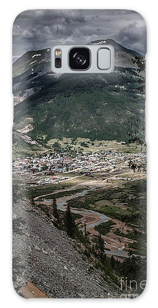 Silverton View From Above Galaxy Case