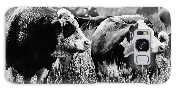 Simmental Bull 2 Galaxy Case by Larry Campbell