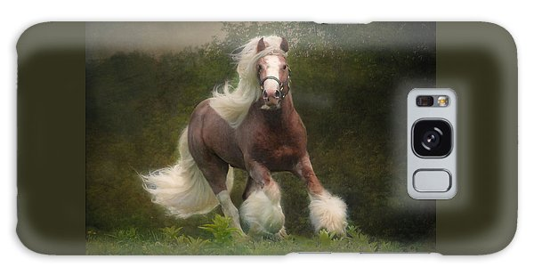 Equine Galaxy Case - Simon And The Storm by Fran J Scott