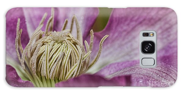 Simple Clematis Galaxy Case by Laurinda Bowling