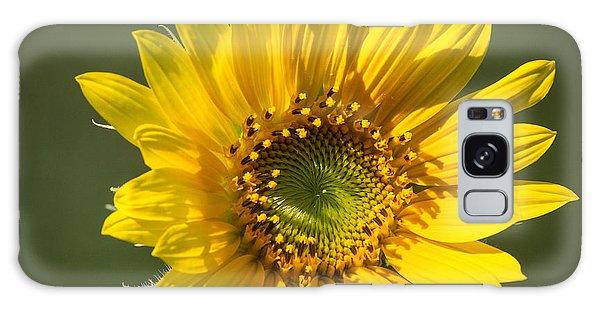 Simple Sunflower Galaxy Case