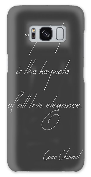 Simplicity And Elegance Galaxy Case