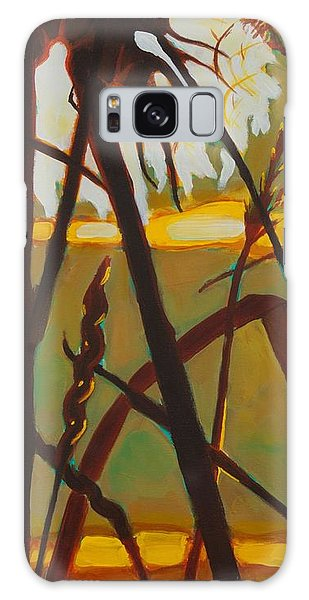 Simplicity Of Light Galaxy Case by Janet McDonald