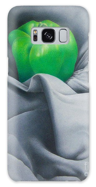 Simply Green Galaxy Case by Pamela Clements