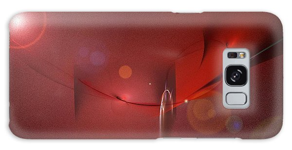 Simply Red Galaxy Case