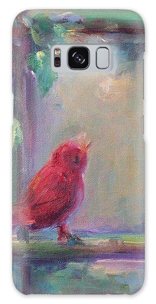 Sing Little Bird Galaxy Case