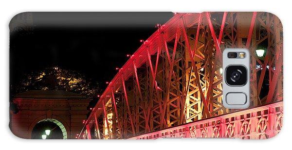 Singapore Anderson Bridge At Night Galaxy Case