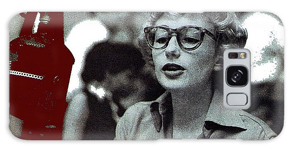 Singer Pianist Blossom Dearie  No Known Date Galaxy Case
