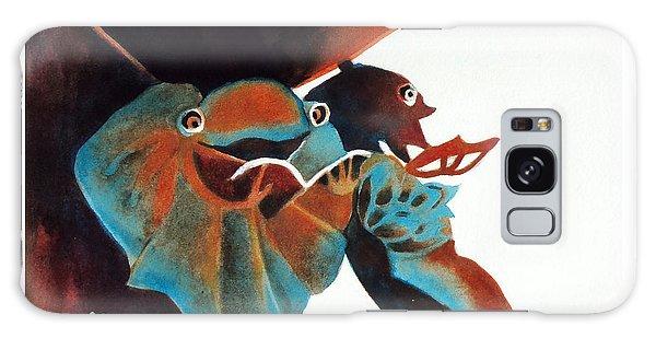 Singing Frog Duet 2 Galaxy Case