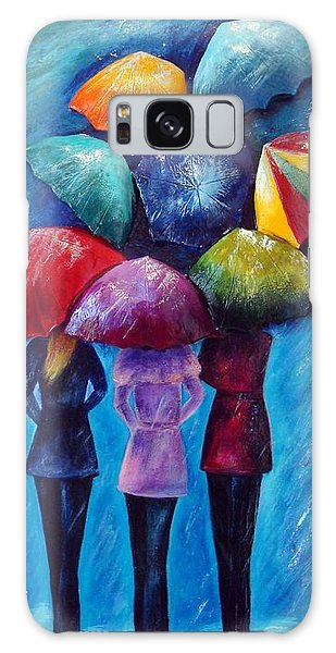 Singing In The Rain Galaxy Case