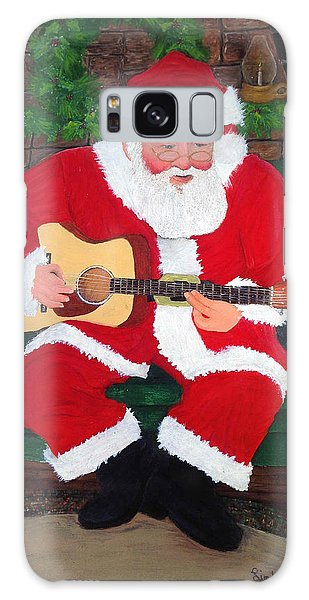 Singing Santa Galaxy Case