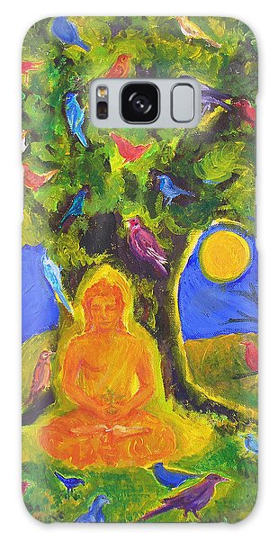 Buddha And The Birds Galaxy Case