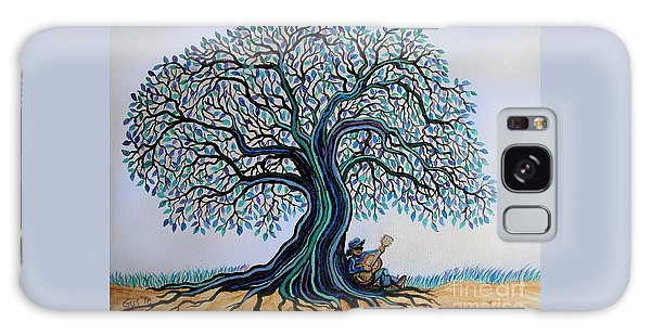 Singing Under The Blues Tree Galaxy Case by Nick Gustafson