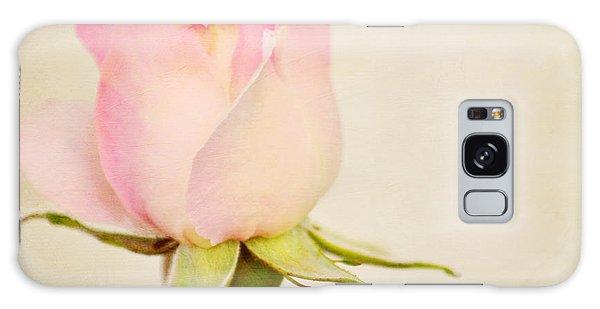 Single Baby Pink Rose Galaxy Case