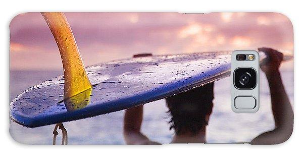 House Galaxy Case - Single Fin Surfer by Sean Davey