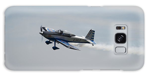 Galaxy Case featuring the photograph Single Rv8tor Sunderland Air Show 2014 by Scott Lyons
