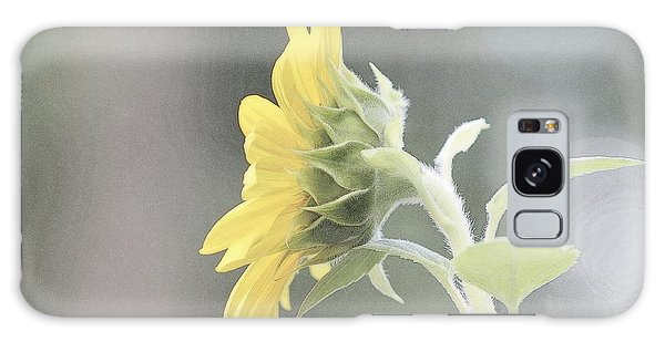 Single Sunflower Galaxy Case