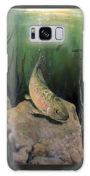 Single Trout Galaxy Case